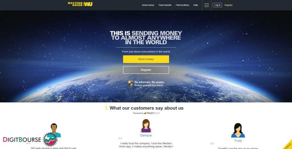 وسترن یونیون (Western Union) یکی از معتبرترین کمپانی هایی است که سرویس نقل و انتقال پول